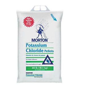 Morton Salt 40 lbs. Potassium Chloride Pellets M1498