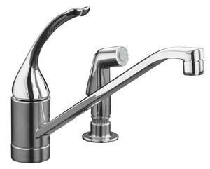 Kohler Coralais® Single Lever Handle Loop Kitchen Faucet K15176-TL-CP