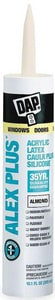 DAP Alex Plus® 10.1 oz. Acrylic Latex Caulk with Silicone D18130