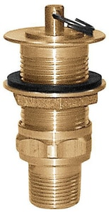 Sioux Chief Brass Sink Plug With 1 Tailpiece S29020200