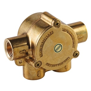 Grohe Tempra National Pipe Thread Female Inline Remote Pressure Balancing Valve in Rough Brass G35204000