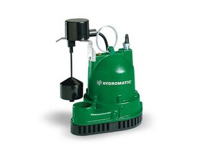 Hydromatic Pump 115V Sump Pump with 10 Cord HVA110