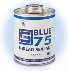 Spears Manufacturing Thread Sealant in Blue SSB75020
