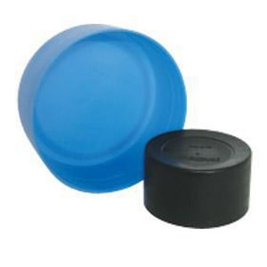 Straight LDPE Pipe Cap in Red CSPIPEPLUG