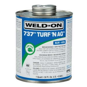 Weld-On PVC Medium Body Cement in Blue I10989