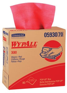 Kimberly Clark WypAll® X80 Pop-Up Wipes K05930