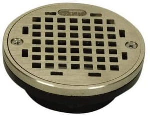 PROFLO® 3 - 4 in. ABS General Purpose Drain with 5 in. Nickel Strainer PF42932