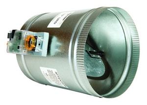 EWC Controls Round Motorized Damper EURD