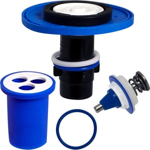 Zurn Industries AquaVantage® P6000-ECA-WS1-RK AquaVantage 1.6 gpf Diaphragm Rebuild Kit for Closet Flush Valves ZP6000ECAWS1RK