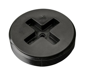 Sioux Chief Flush Plug (Less Brass Insert) in Black S879030