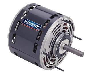 US Motors Rescue® 1/6 - 1/2 hp 230V 1075 rpm Direct Drive Blower Motor USM5461