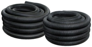 Advanced Drainage Systems 100 ft. Plastic Drainage Pipe A0400100