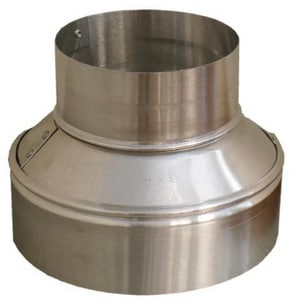 Snappy 6 in. Aluminum Tapered Reducer SNA40564