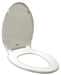 American Standard Rise-and-Shine® Plastic Elongated Closed Front With Cover Toilet Seat A5324019