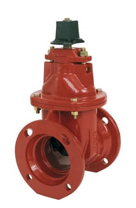 Kennedy Valve Mfg. KS-RW Series Ductile Iron Mechanical Joint Open Right Less Accessories Resilient Wedge Gate Valve K7571LAOR