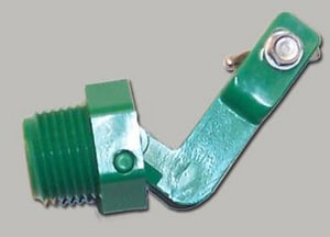 Ritchie Engineering NPT Male Valve in Green R13597