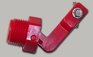 Ritchie Engineering MPT Hog Valve in Red R12575