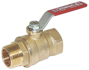 Legend Valve & Fitting T-806 400 psi Forged Brass Barbed Ball Valve L10158