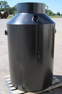 Midwest Tank 35 cu ft. Steel Inflammable Waste Trap MA1006