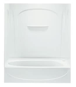 Sterling Acclaim® 60 in. Bath And Shower Wall Set in White S710941000