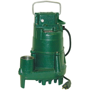 Zoeller 115V 10 Amp Manual Effluent Pump Z1530002