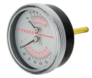 Pasco 60-320 F Boiler Pressure Gauge P1435
