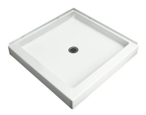 Sterling Plumbing Group Intrigue™ 39 x 39 in. Shower Base S72051100