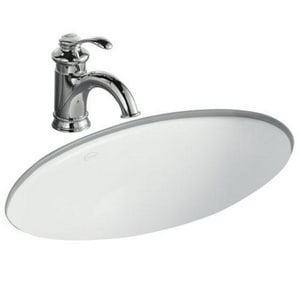 Kohler Vintage® Classic Elliptical Undermount Bathroom Sink K2240