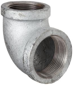 Threaded 150# Galvanized Malleable Iron 90 Degree Elbow IG9