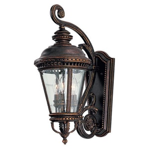 Murray Feiss Industries Castle 22-1/2 x 9-1/4 in. 60W Wall Mount Lantern MOL1901