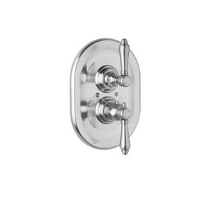 Rohl Country Bath Thermostatic Volume Concealed Valve with Lever Handle RA4909LM