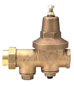 Wilkins Regulator 600 Series 300 psi Union Sweat Bronze Pressure Reducing Valve W600C