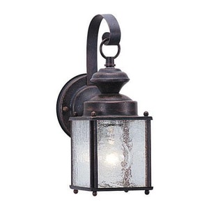 Seagull Lighting Jamestowne 4-1/2 in. 60 W 1-Light Medium Lantern S888008
