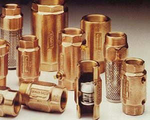 Danfoss 400 psi Bronze IPS Check Valve F4042E