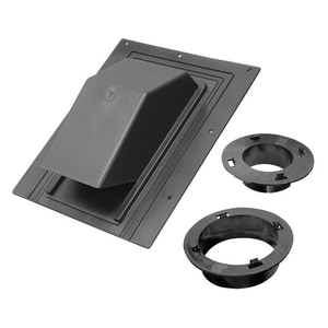 Lambro Industries Plastic Roof Cap Black L3540