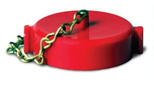 FPPI 2-1/2 in. Plastic national standard thread Cap with Chain F0728000