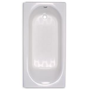 American Standard Princeton™ Oval Rectangular Bathtub with End Drain A2395202