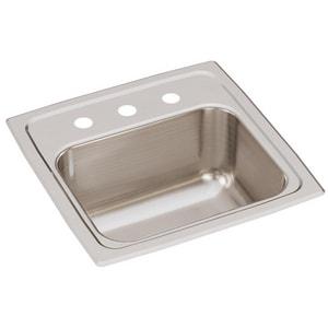Elkay Gourmet® 15 X 15 In. Single Bowl Top Mount Bar Sink ...