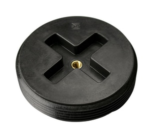 Sioux Chief 2-1/2 in. ABS Plastic Countersunk Cleanout Plug S87925