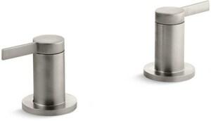 Kohler Stillness® Double Lever Handle Deck Mount/Wall Mount Bath Valve Trim (Trim Only) KT955-4