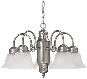 Capital Lighting Fixture Petite 60 W 5-Light Medium Chandelier C3255118