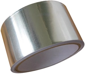 Avery Dennison Tape Fasson® 2-1/2 in. x 60 yd. Silver Aluminum Duct Tape A0810L60