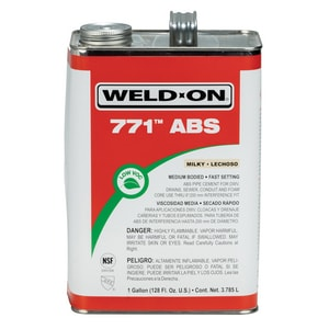 Weld-On ABS Medium Body Cement in Clear I10230