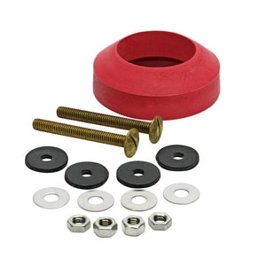 Fluidmaster Brass;White Tank To Bowl Bolt & Gasket Kit F6102