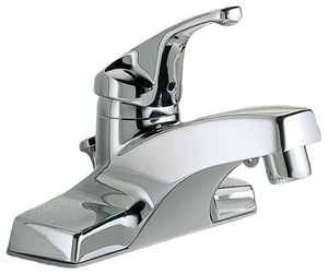 American Standard Colony® 1.2 gpm 3-Hole Centerset Bathroom Faucet with Single Lever Handle (Less Drain) A2175205