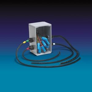 Orenco Systems Splice Box with 4-Cord Grip OSB4