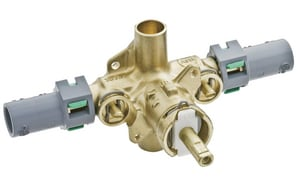 Moen Rough-In Pressure Balancing Valve CPVC with Stops in Polished Chrome M62330