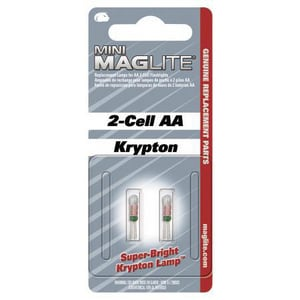 Mag Instrument Battery Mini Maglite Replacement Lamp MLM2A001