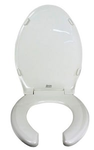American Standard Rise-and-Shine® Plastic Elongated Open Front With Cover Toilet Seat A5325024