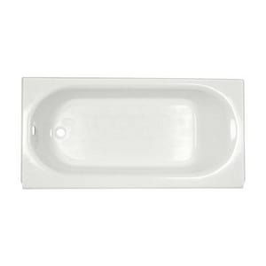 American Standard Princeton™ 60 x 30 in. Left-Hand Above Floor Rough Waste & Overflow Bath Tub A2392202ICH